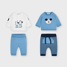 Load image into Gallery viewer, Dogs Sweatshirt and Joggers Set for Newborn Boy