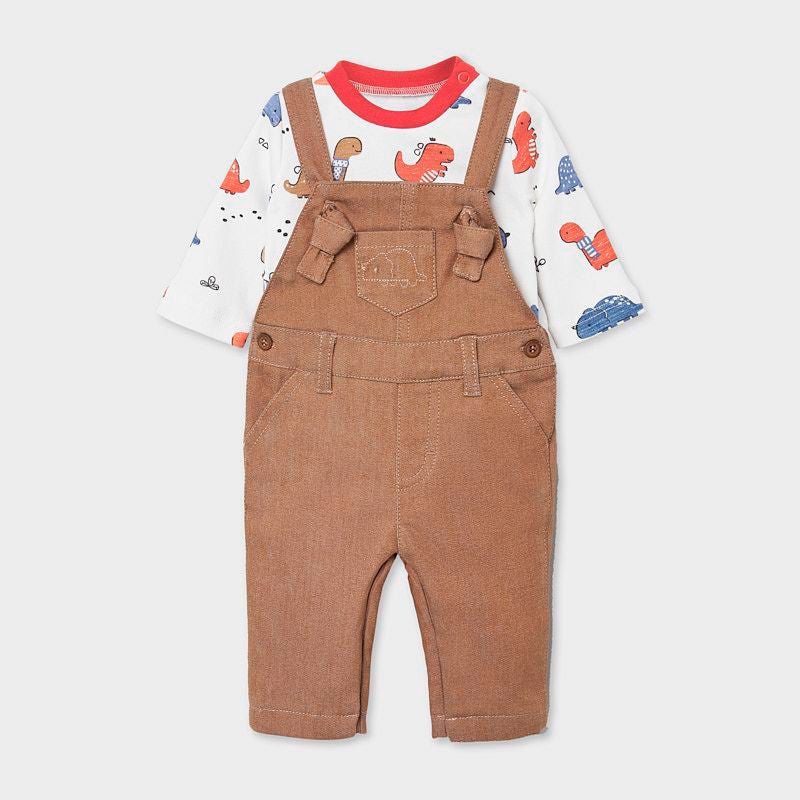 Dungaree Set For Newborn Boy