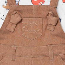 Load image into Gallery viewer, Dungaree Set For Newborn Boy