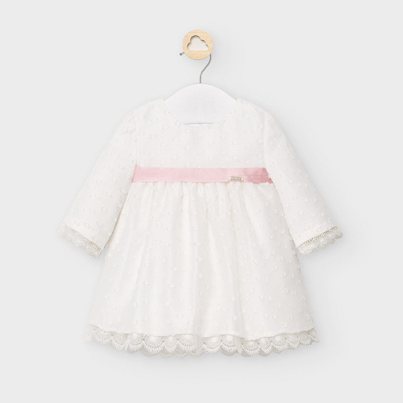 Organza and Plumeti Baby Dress