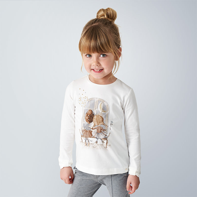 BFFs Long Sleeved T-shirt and Sparkly Leggings