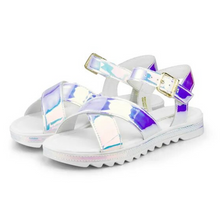 Load image into Gallery viewer, Little Me Holografico Sandal