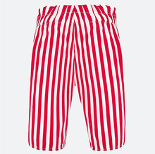 Load image into Gallery viewer, Red Poplin Trousers with Bow - Size 24M