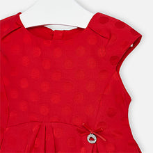 Load image into Gallery viewer, Jacquard Dots Dress - Size 2T, 3T