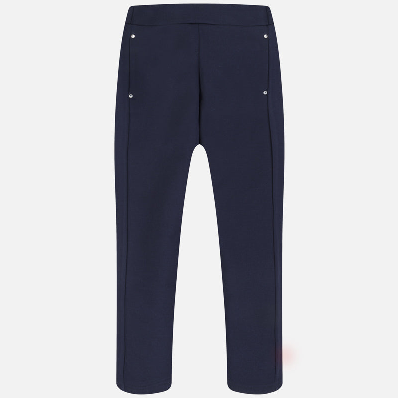 Navy Blue Long Trousers
