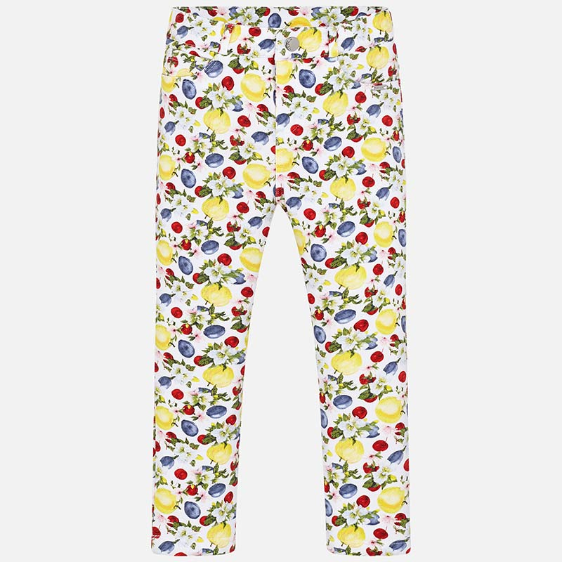 Girls Patterned Jeggings - Size 2T