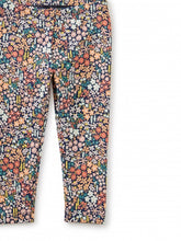 Load image into Gallery viewer, Bitty Bunny Flocked and Floral Leggings Set