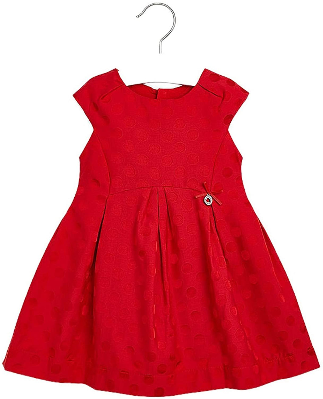 Jacquard Dots Dress - Size 2T, 3T