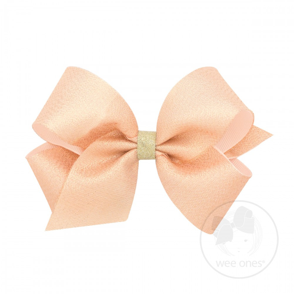 Medium Shimmer Grosgrain Hair Bow