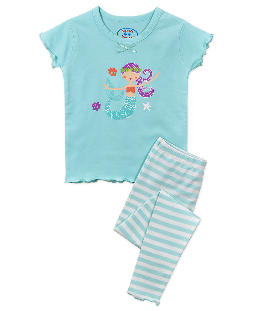 Aqua Mermaid Super Soft Snug Fit PJs