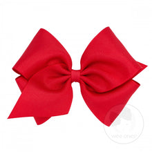 Load image into Gallery viewer, Mini King Classic Grosgrain Hair Bow