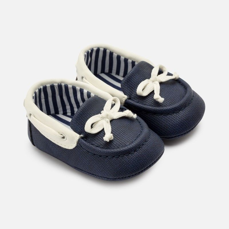 Nautical Baby Moccasins