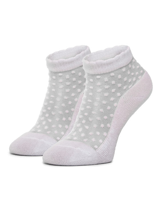 White Plumeti Socks