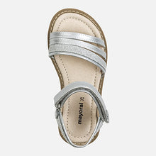 Load image into Gallery viewer, Silver Glitter Sandal