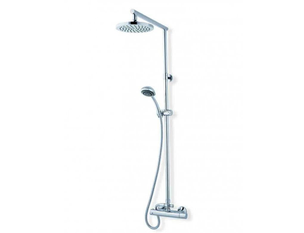 Round Thermostatic Shower Rail