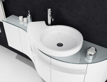 Load image into Gallery viewer, Swirl Cabinet & Washbasin