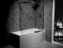 Load image into Gallery viewer, Celsius 1700mm x 750-900mm Showerbath (Carronite)