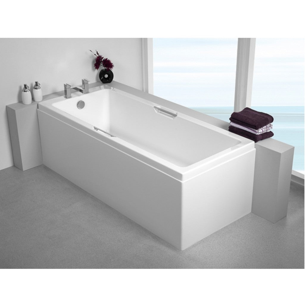 Carron Quantum Integra 1700mm x 750mm Single Ended Bath with Twin Grips