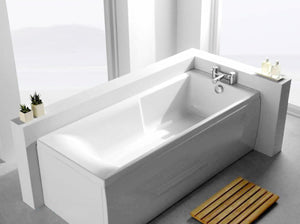 Carron Axis 1600mm x 700mm Low Level Single Ended Bath