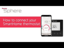 Load and play video in Gallery viewer, SmartHome Underfloor Heating Thermostat