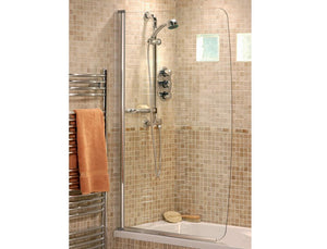Single Panel Showerbath Screen