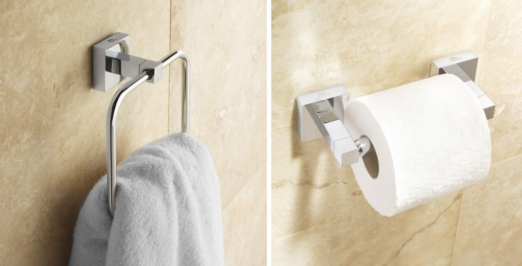 6 - Orca Towel Ring & Toilet Roll Holder