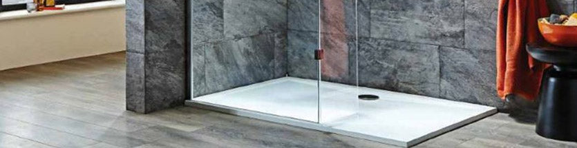 Grey Tiled Shower Tray
