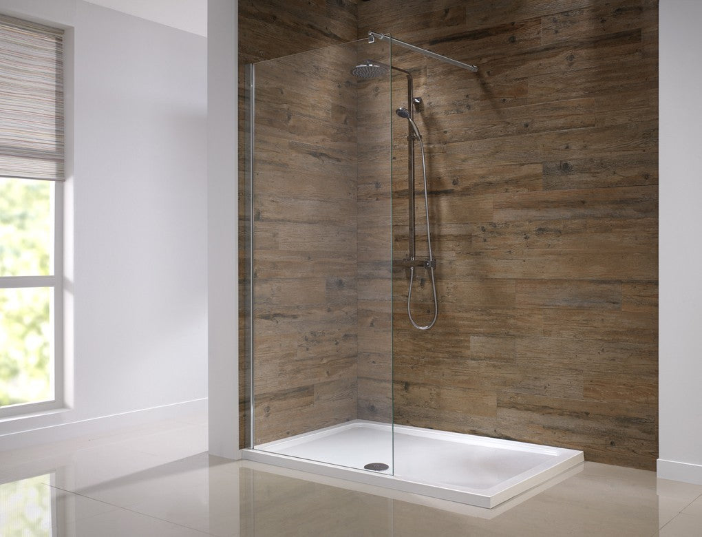 Wet room shower screen by Orca