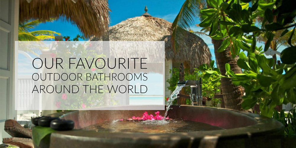 Our Fave Outdoor Baths
