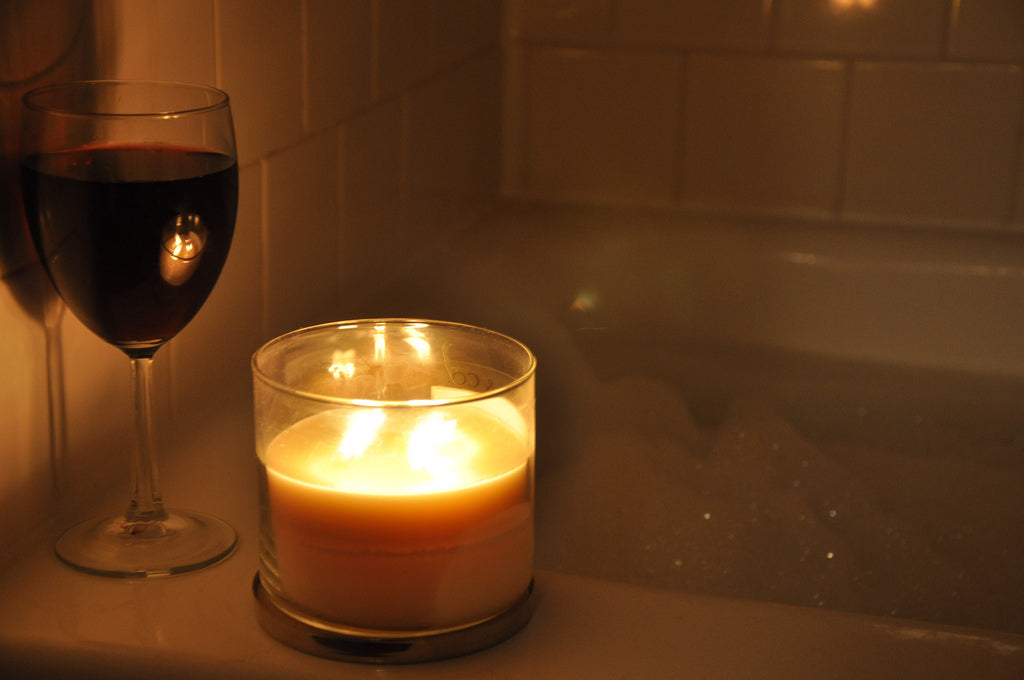 A Glass of Wine in Bath