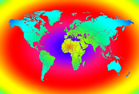 CoolMaps World 250 JPEG Map Graphics Collection