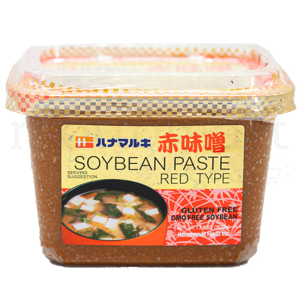 HANAMARUKI Aka Miso - Red Soy Bean Paste 500g