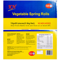 KH Harumaki - Frozen Vegetable Spring Roll 60pc / 900g