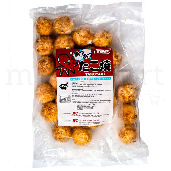 TEP Takoyaki - Frozen Octopus Ball 25pc (500g)