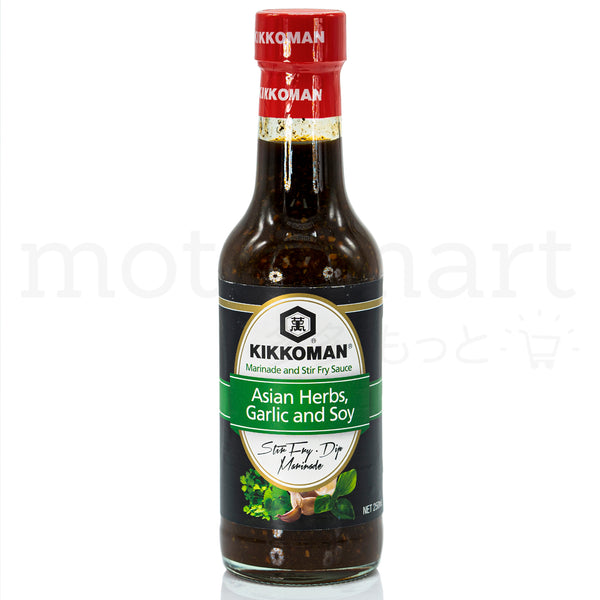 KIKKOMAN Asian Herbs Marinade and Stir Fry Sauce 250ml