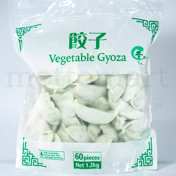 WPM Yasai Gyoza - Vegetable Dumpling 60pc (1.2kg)