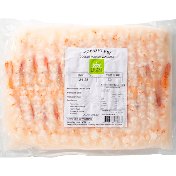 Cooked Ebi VM - shrimp size 21-25 / 30PCS