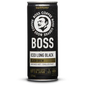 SUNTORY BOSS Coffee - Iced Long Black (237ml) 12CANs