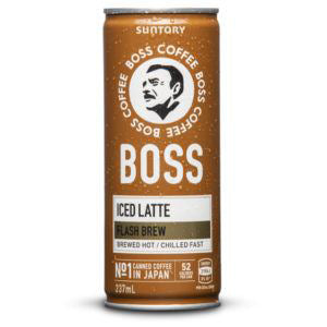 SUNTORY BOSS Coffee - Iced Latte (237ml) CAN