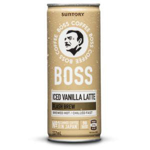 SUNTORY BOSS Coffee - Iced Vanilla Latte (237ml) CAN