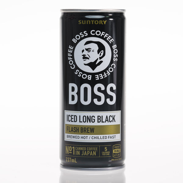 SUNTORY BOSS Coffee - Iced Long Black (237ml) CAN
