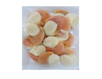 FROZEN SCALLOP ROE ON LARGE 500G