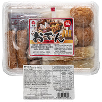 KIBUN Oden Set  - Frozen Assorted Fish Cake 433g
