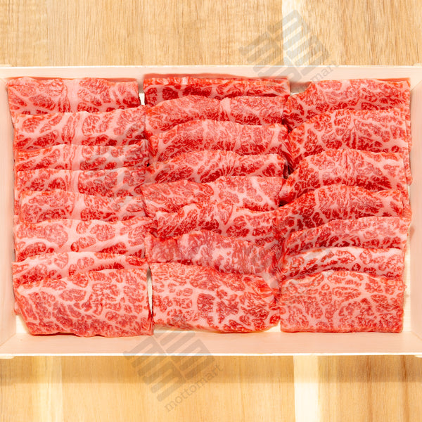 CHUCK TAIL FLAP Australian FULL-BLOOD Wagyu (MBS 8-9+) - BBQ/Yakiniku Cut 500g