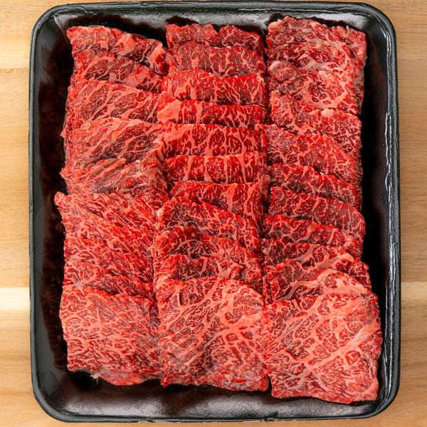 FLAP MEAT Australian FULL-BLOOD Wagyu (MBS 8-9+) - BBQ/Yakiniku Cut 500g