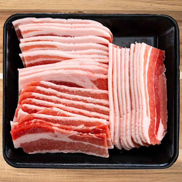 PORK Belly BBQ Slice Cut 4.0mm (500G)