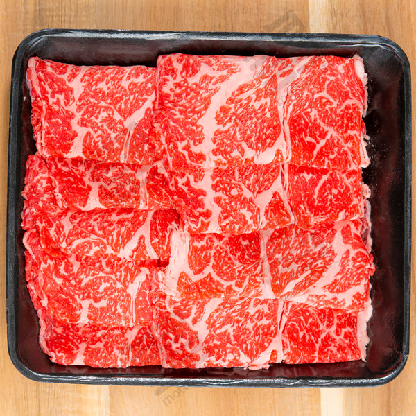 Premium Full Blood Wagyu Chuck Eye Roll Slice (MB 9+) 300g