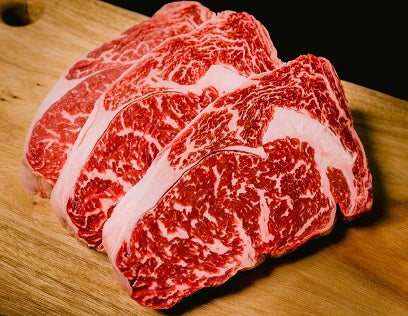 SCOTCH FILLET Australian FULL-BLOOD Wagyu - Steak Cut (MBS 6+) 2X 250g (500g)