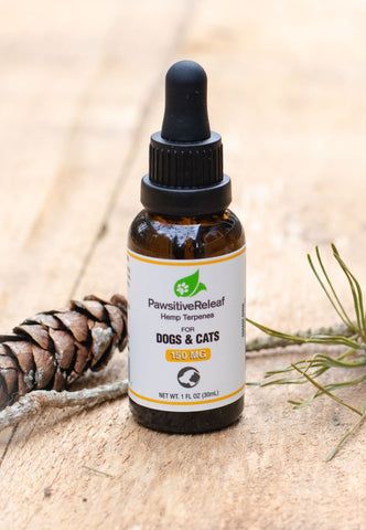 PawsitiveReleaf 150mg Hemp Oil for Dogs and Cats