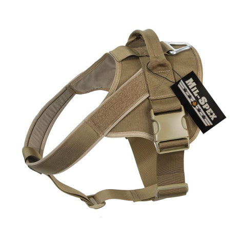 MILSPEX K-9 Patrol Tactical Harness - Backwoods Dog